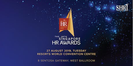 THE SINGAPORE HR AWARDS 2019 PRESENTATION GALA tickets