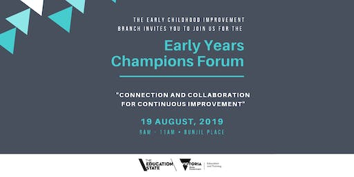 Southern Melbourne Early Years Champions Forum