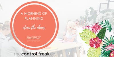 A Morning of Planning