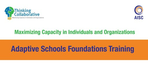 Adaptive Schools Foundations Training