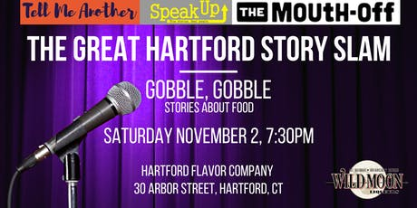 The Great Hartford Story Slam: Gobble, Gobble tickets