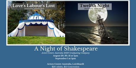 A Night of Shakespeare tickets