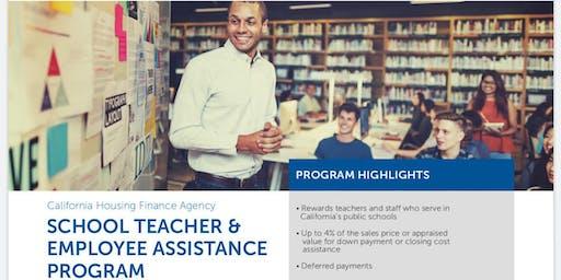 California School Teacher & Employee Homebuying Seminar