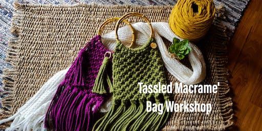 Tassled Macrame' Bag Worksop