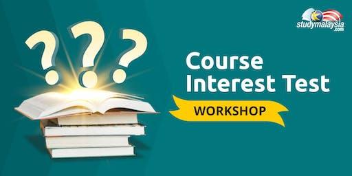 Course Interest Test Workshop - StudyMalaysia.com