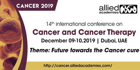 14th International Conference on Cancer and Cancer Therapy tickets