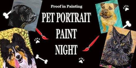 Cannon Beach - Pet Portrait Paint Night tickets