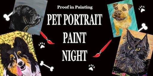 Cannon Beach - Pet Portrait Paint Night
