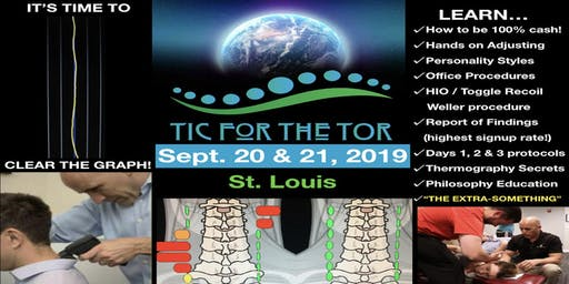 TIC for the TOR EVENT!      (SEPT. 20-21)