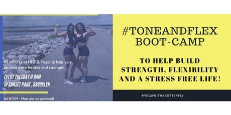 #ToneAndFlex Boot-Camp in Sunset Park tickets