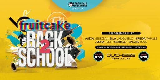 FruitCake: Back 2 School