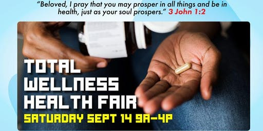 Total Wellness Health Fair