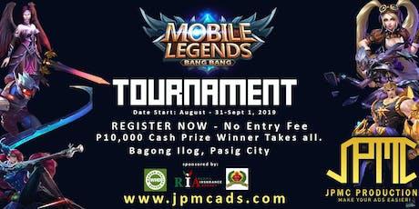 Mobile Legend Battle biglietti