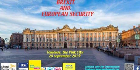 BREXIT, and, European Security - A Liberal and Democratic Conference tickets