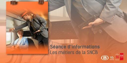Séance d'informations - Les métiers de la SNCB