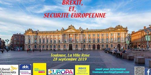 BREXIT, et, Sécurité Européenne : Une conférence des libéraux