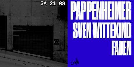 Pappenheimer, Sven Wittekind & Faden im Loft Tickets