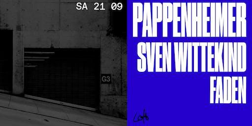 Pappenheimer, Sven Wittekind & Faden im Loft