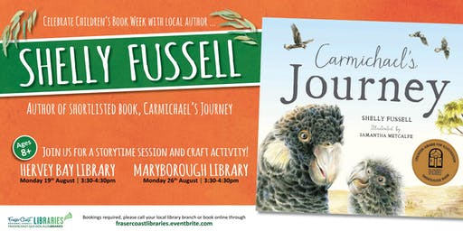 Shelly Fussell - Local Children's Author session - Hervey Bay Library - Ages 8+