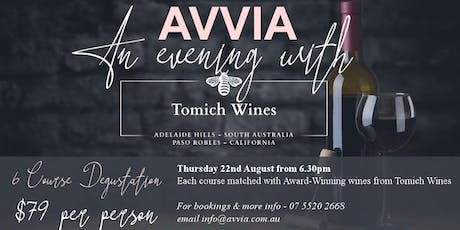 An Evening with Tomich Wines tickets