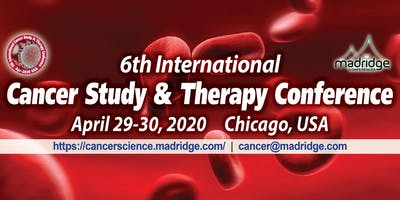 6th International Cancer Study & Therapy Conference