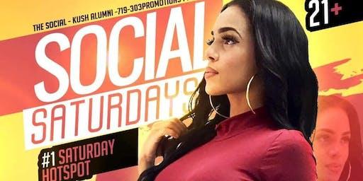 THE SOCIAL PRESENTS: Social Saturday