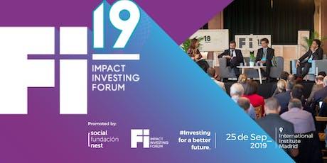 Fi19- Impact Investing Forum- tickets