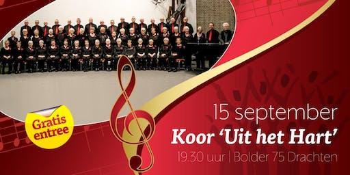Concert: gemengd koor 'Uit het Hart'