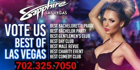Sapphire Club Las Vegas  tickets