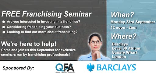 Free Franchising Seminar Event