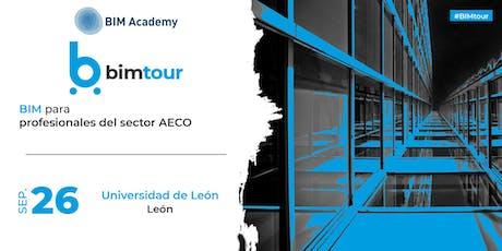 BIMtour: BIM para profesionales del sector AECO en León tickets