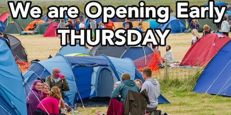 Thursday Early Opening  tickets