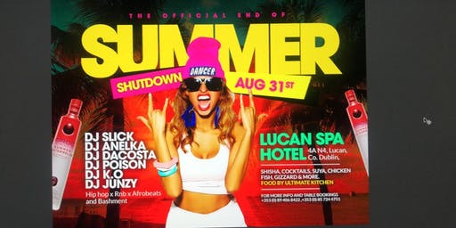 End of Summer Shutdown!!!