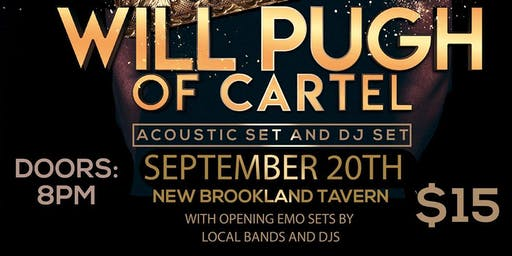 Emo Night Columbia's 3 Year Anniversary Show feat. Will Pugh Of Cartel