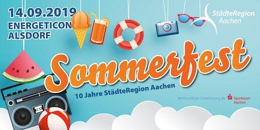Sommerfest der StädteRegion Aachen 2019