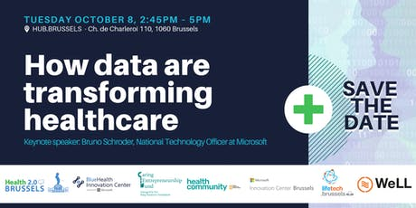 Health 2.0 Brussels: How data are transforming healthcare tickets