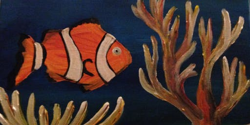 Paint & Sip with 2 jugs for 2 people XXXX Brewery  Clown Fish