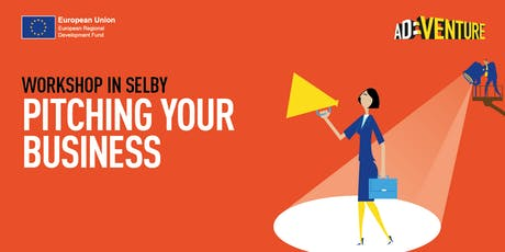 Adventure Business Workshop in Selby - Pitching your Business tickets