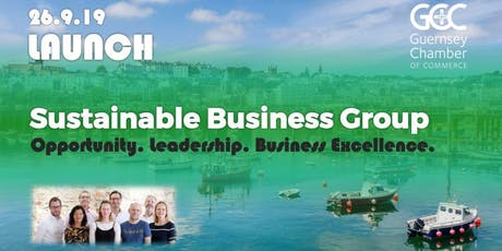 Launch of Chamber's Sustainable Business Group tickets