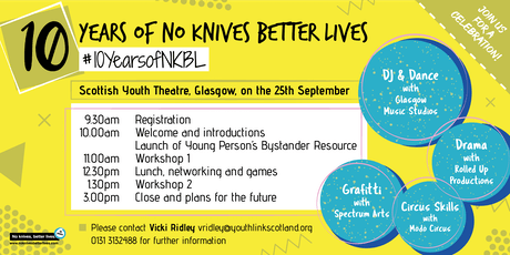 10 Years of No Knives Better Lives tickets