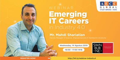 Free Webinar - Emerging IT Careers in Industry 4.0