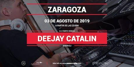 Sesión DJ Deejay Catalin en Pause&Play Intu Puerto Venecia entradas
