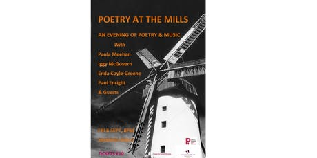 Poetry at the Mills: An Evening of Poetry and Music tickets
