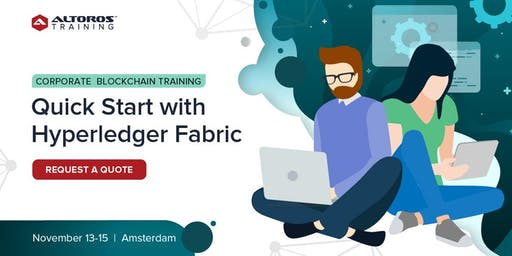 Corporate Blockchain Training: Quick start with Hyperledger Fabric [ Amsterdam ]