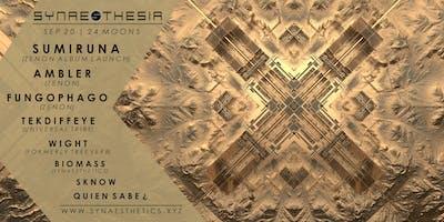 Synaesthesia; Sumiruna (Zenon Album Launch) Ambler, Fungophago &...