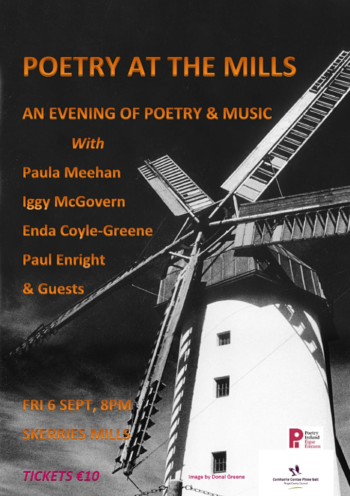 Poetry at the Mills: An Evening of Poetry and Music image