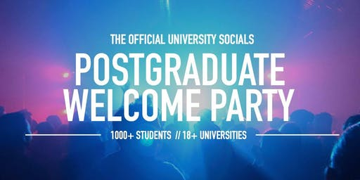 Postgraduate Welcome Party // 2019