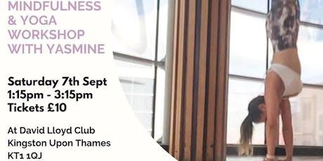 Mindfluness & Yoga Workshop  tickets