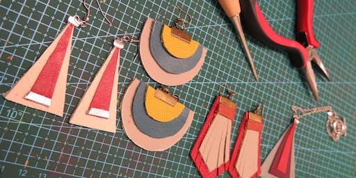 Leather & leatherette Jewellery Workshop