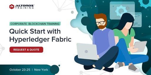 Corporate Blockchain Training: Quick start with Hyperledger Fabric [New York]